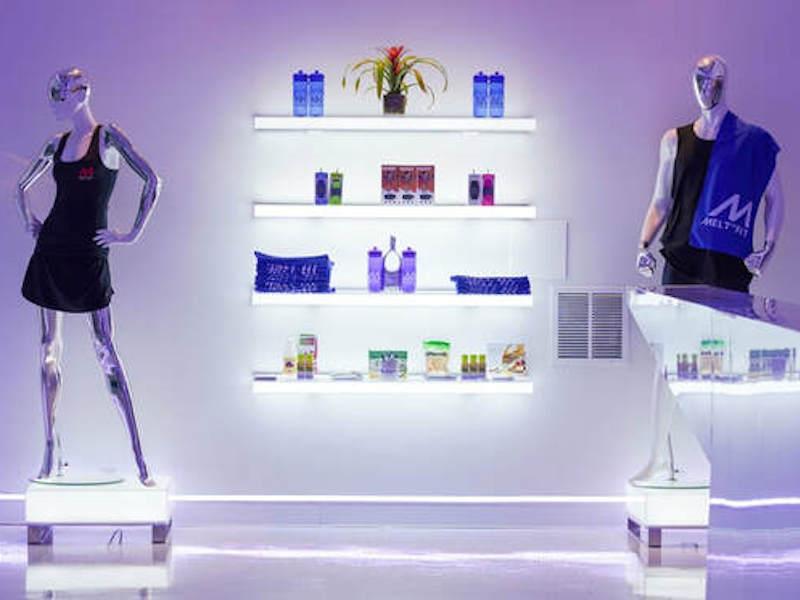 Interior Retail Conceptual Gym Design for Melt Rx Fitness