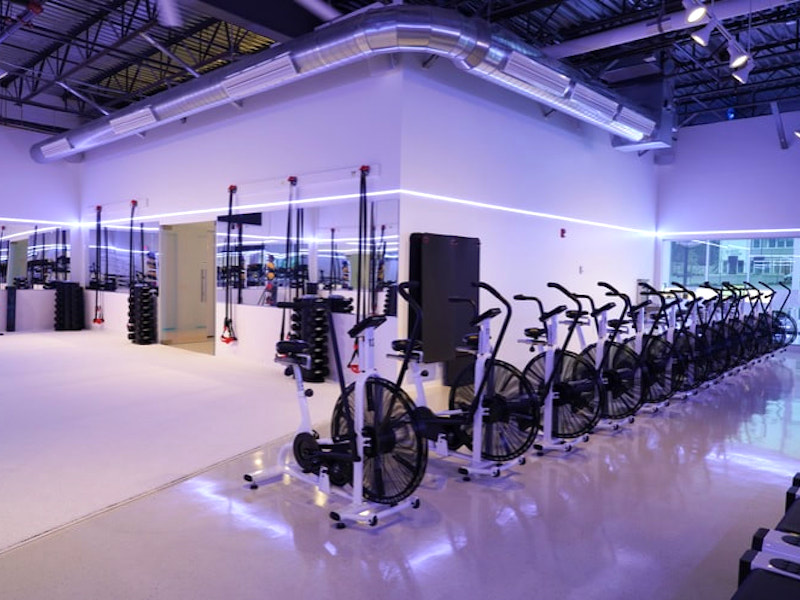 Interior Conceptual Gym Design for Melt Rx Fitness in Littleton, Massachusetts