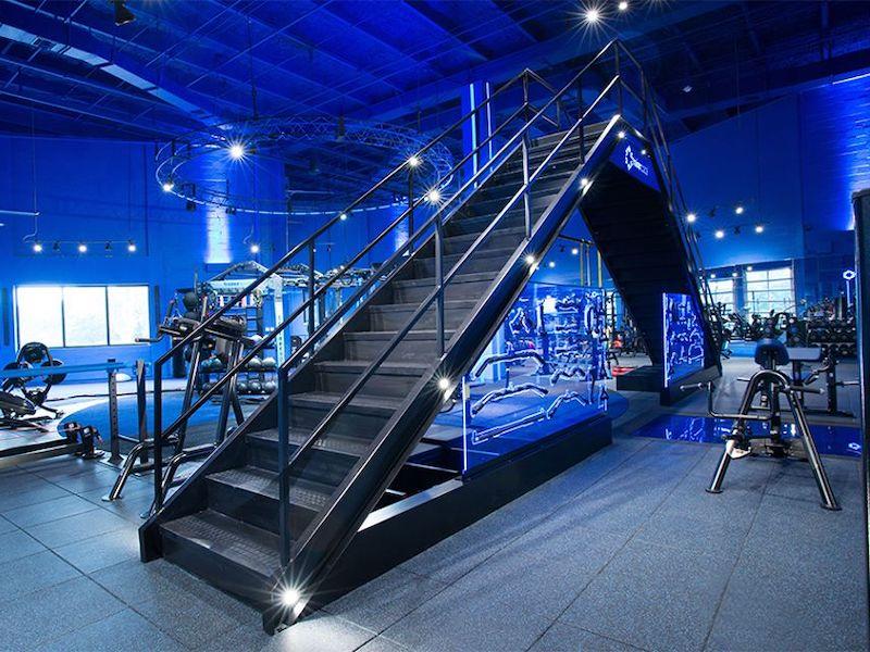 Interior Training Area Conceptual Gym Design for TrainerSpace.