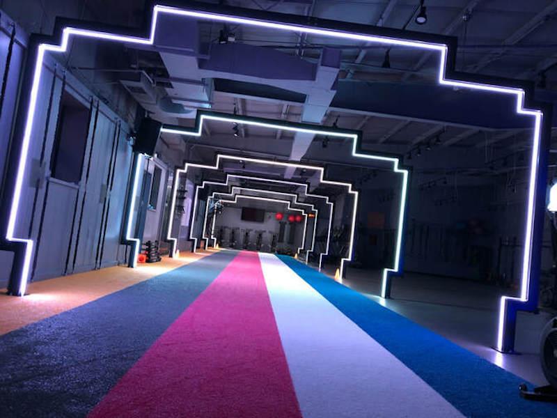 Theatrical Conceptual Gym Design