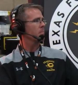 Head Football Coach Joe Dale Cary